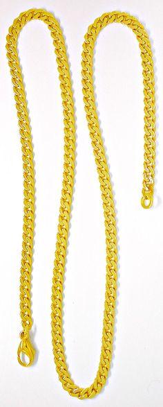 Foto 3, Top Flachpanzer-Kette massiv Gelbgold 14K/585 Shop Neu!, K2899