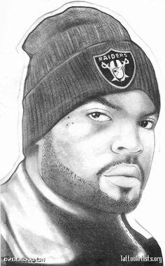 ice cube tattoo paterns | Ice Cube Tattoo Artistsorg