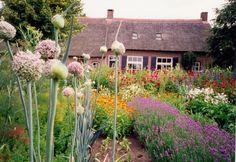 boerderij met boerentuin