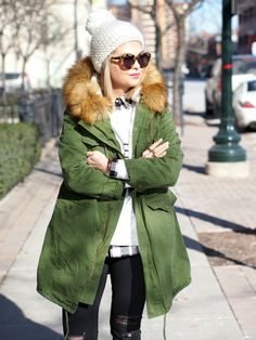 Girl on the Street: Day 5 | Parka.To see this full look, click here. via @stylelist