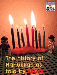 The history of Hanukkah makes a great story to tell your kids. The history of Hanukkah becomes an epic story to tell when you use Legos. History Of Hanukkah, History For Kids, Hannukah, Hanukkah For Kids, Used Legos, Mystery Of History, Teaching History, Winter Holidays
