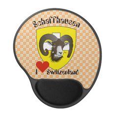 Schaffhausen - Schweiz - Suisse - Mausmatten Gel Mousepad