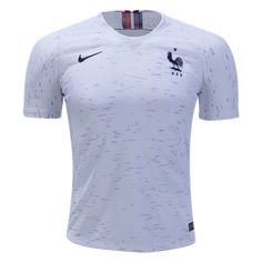 2018 World Cup of Soccer Team France FIFA Away Replica White Jersey  X-Large Soccer Team Cup 2bf4f58fca182