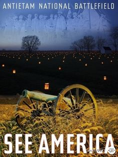 Antietam National Battlefield | 17 Posters That Will Inspire You to See America