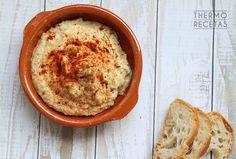 El hummus al jengibre es una variante del tradicional paté vegetal de garbanzos, propio de la cocina árabe.