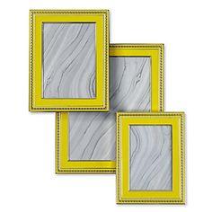 Avalon Frames in luscious Lemon, now $12.99 - $24.99 #ZGallerie