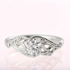 Platinum Engagement Rings And Wedding Bands; Jewellery Store Ontario or Jewellery Stand H&m underneath Jewellery Box Gift Ideas within Platinum Engagement Ring Rate Celtic Engagement Rings, Celtic Wedding Rings, Celtic Rings, Platinum Engagement Rings, Gold Wedding Rings, Engagement Ideas, Platinum Ring, Leaf Wedding Band, Wedding Bells