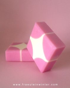 Geometric pattern - handmade soap