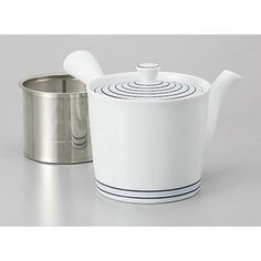Amazon.com | Arita yaki quilt Arita yaki white porcelain vortex SS middle teapot [10.5 x 10.5 cm 425 cc] Ryokan Ryokan Japanese food machine restaurant business use: Teapots Watering Can, Tea Pots, China, Entertaining, Canning, Tableware, Dinnerware, Home Canning, Dishes
