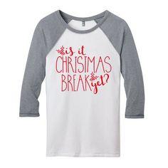 Christmas T-shirt for Teachers