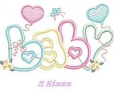 Birth announcement embroidery design Birth template machine | Etsy Embroidery Shop, Baby Embroidery, Machine Embroidery Applique, Applique Quilts, Embroidery Ideas, Baby Applique, Elephant Applique, Computerized Embroidery Machine, Applique Designs