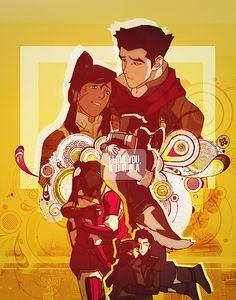 Makorra hugs