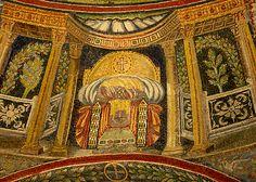 Neonian baptistry mosaic Ravenna, Italy
