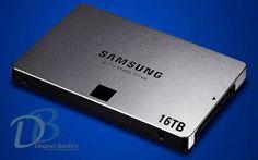 Capacidade de armazenamento não é problema para o PM1633a, novo SSD da Samsung. A unidade de mem...