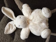 Found on 18/07/2015 @ Stretford. Small White Bunny. Visit: https://whiteboomerang.com/lostteddy/msg/n3t47z (Posted by James on 18/07/2015)