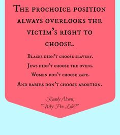 """Randy Alcorn - quote taken from the excellent book, """"Why Pro-Life?"""""""