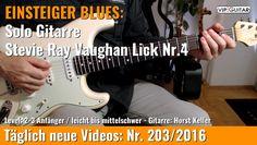 ✪ EINSTEIGER BLUES ►Stevie Ray Vaughan Lick Nr.4