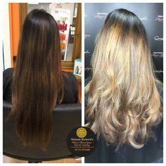 Bold Balayage  #balayage #blondehair #blonde #longhair #waves #light #toned #naturalhair #hair #hairstyles #haircolor #haircut #shinee #pretty #gorgeous #golden