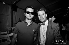 Scott Disick and Jimmy Sommers / Wildfox Couture 2013 Runway Show at The Raleigh Hotel | Posh Panel