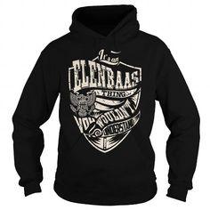I Love Its an ELENBAAS Thing (Eagle) - Last Name, Surname T-Shirt Shirts & Tees