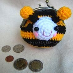 #Crochet Coin purse