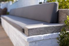 White Washed Used Brick and Wood Ingrained Concrete