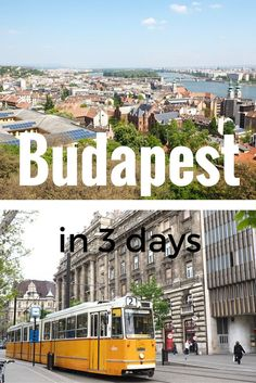 A THREE DAY ITINERARY FOR BEAUTIFUL BUDAPEST. Visit Hungary in the summer to see Budapest in all its glory. Find a full 3 day itinerary on While Im Young and Skinny travel blog.