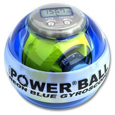 Exercise & Fitness: Powerball Neon White Pro Signature Exercise Ball by NSD Powerball Nsd Powerball, Nasa, Power Balls, Strength Training Equipment, Fitness Gifts, Cooking Timer, Cool Stuff, Exercise Ball, Excercise
