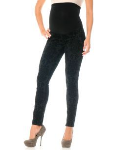 Motherhood Maternity Indigo Blue Premium Secret Fit Belly(r) 5 Pocket Skinny Leg Maternity Jeans