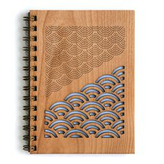 """Product Details - Beautiful handcrafted / assembled wood cover journal - 5.25""""x 7.25""""(5""""x7"""" Pages)- 80 blank white sheets / 160 pages (24lb"""