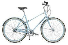 I'm still on the hunt for a new bike...this one is def. a contender...powder blue? or perhaps I'll take the chartreuse.
