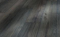 I love this colour floor for a cottage-Dark Grey Wood Floors   Laura Ashley Pine Light Grey Laminate Flooring