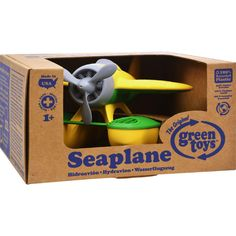 Green toys indoor gardening kit 11 piece kit products green toys seaplane yellow workwithnaturefo