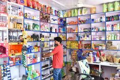it is a revolutionary idea of standardization, digitization & centralization to traditional Grocery system. Small Store Design, Food Truck, Grocery Store, Shiva, Sari, King, Interior Design, Modern, Shopping