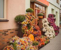 Vence, Floral Wreath, Wreaths, Gardening, Home Decor, Fall Season, All Saints Day, Autumn, Floral Crown