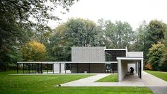 Rietveld Pavilion by Gerrit Rietveld at the Kröller-Müller Museum