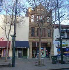 San Jose, California -  downtown historic district