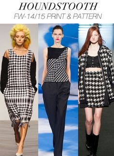TREND COUNCIL - F/W 14-15 WOMEN'S PRINT AND PATTERN
