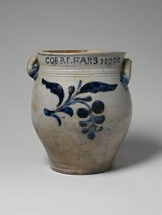 Jar Thomas Commeraw  (active 1797–1819) or Maker: David Morgan (active 1797–1802) Date: 1797–1819 Geography: Mid-Atlantic, New York, New Yor...