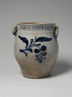 Jar Thomas Commeraw  (active 1797–1819) or Maker: David Morgan (active 1797–1802) Date: 1797–1819 Geography: Mid-Atlantic, New York, New Yor...