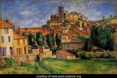 Paul Cezanne Most Famous Works | Gardanne - Paul Cezanne - www.paul-cezanne.org