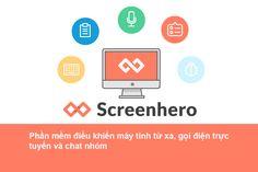 Screenhero là phần mềm cho phép bạn chia sẻ màn hình máy tính với người khác…
