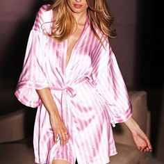 Silk robe - vs- cute