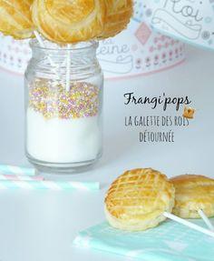 Chouette ! une galette des rois sucette ! #chouettegalette #diy #kids