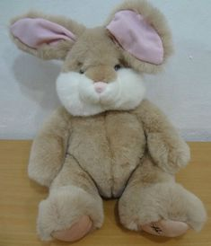 Harrods Knightsbridge Bunny Rabbit Stuffed Animal Easter Toy 13 Inches Plush