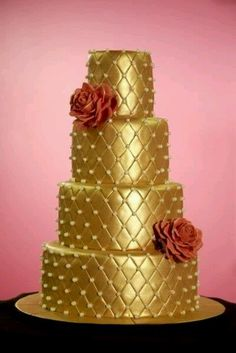 The Golden Age. Check out Vida's FB fan page for the Cake Design series. #vidadivinedesign.com