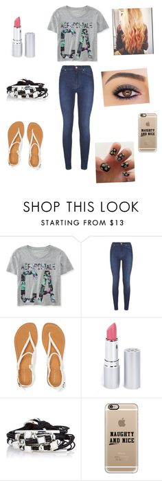 """Aww"" by myloverseyes on Polyvore featuring beauty, Aéropostale, 7 For All Mankind, HoneyBee Gardens, Gillian Julius and Casetify"