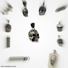 Shops, Unisex, Pendant Jewelry, Cufflinks, Skull, Accessories, Collection, Skull And Crossbones, Schmuck