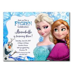 FREE Frozen Party Invitation Template Download Party Ideas And - Party invitation template: frozen birthday party invitation template