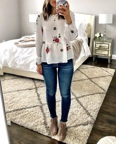 Comfy Spring Outfits Ideas Can Wear For Work Jean Outfits, Fall Outfits, Casual Outfits, Cute Outfits, Fashion Outfits, Womens Fashion, Work Outfits, Spring Outfits Women Casual, Teacher Outfits